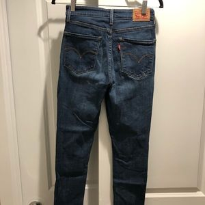 High Rise Skinny Levi jeans